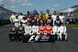 Gruppenfoto mit allen Fahrern 2016