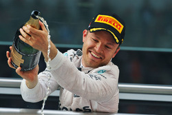 Podium: winner Nico Rosberg, Mercedes AMG F1 Team