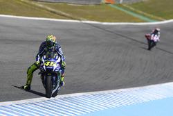Valentino Rossi, Yamaha Factory Racing und Jorge Lorenzo, Yamaha Factory Racing