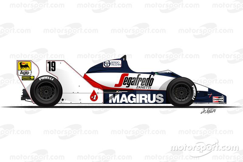 1984 - La Toleman TG183B