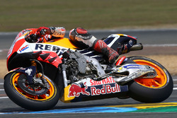 Marc Marquez, Repsol Honda Team with crash damage