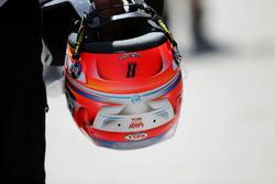 The helmet of Romain Grosjean, Haas F1 Team VF-16