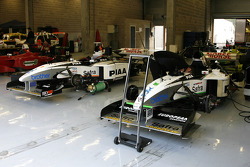 A couple of F1 Tyrrell 026 Ford 3.0 V8