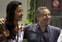 Jean Todt and Michelle Yeoh wife of Jean Todt