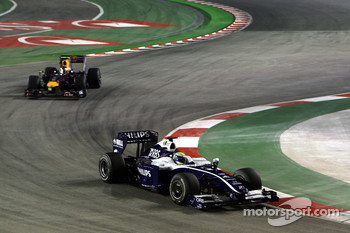 Nico Rosberg, Williams F1 Team and Sebastian Vettel, Red Bull Racing