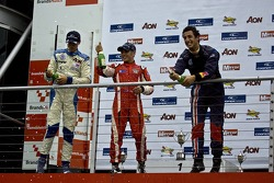 Podium: Max Chilton, Riki Christodoulou and Daniel Ricciardo