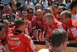 Second place Casey Stoner, Ducati Marlboro Team