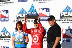Pole Winner Dario Franchitti