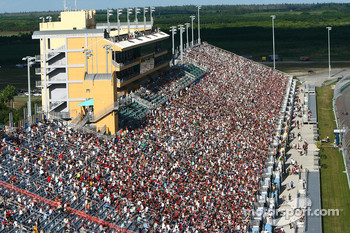 The main grandstand at Homestead