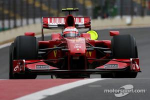 Raikkonen said goodbye to Formula One in 2009