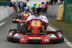 Go-kart event: Alex De Angelis