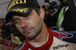 Winner and 2009 WRC champion Sébastien Loeb celebrates