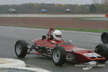 Dave Lowe in a Lotus 69