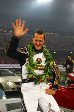 Race of Champions second place Michael Schumacher