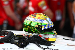 Helmet of James Courtney