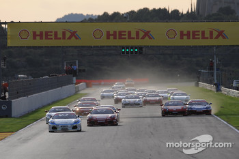 Ferrari Challenge: FCI Start race 1