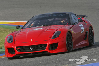 Felipe Massa in the 599 HGTE