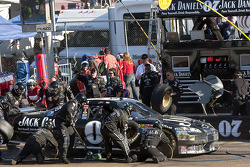 Pit stop for Casey Mears, Richard Childress Racing Chevrolet