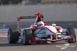 Adam Hay-Nicholls test drives the new GP3 Series car