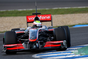 Oliver Turvey, Tests for Mclaren Mercedes
