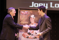 Myers Brothers Awards: Raybestos rookie of the year award to Joey Logano