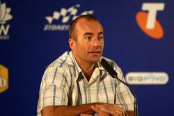 Press conference: Australian NASCAR driver Marcos Ambrose