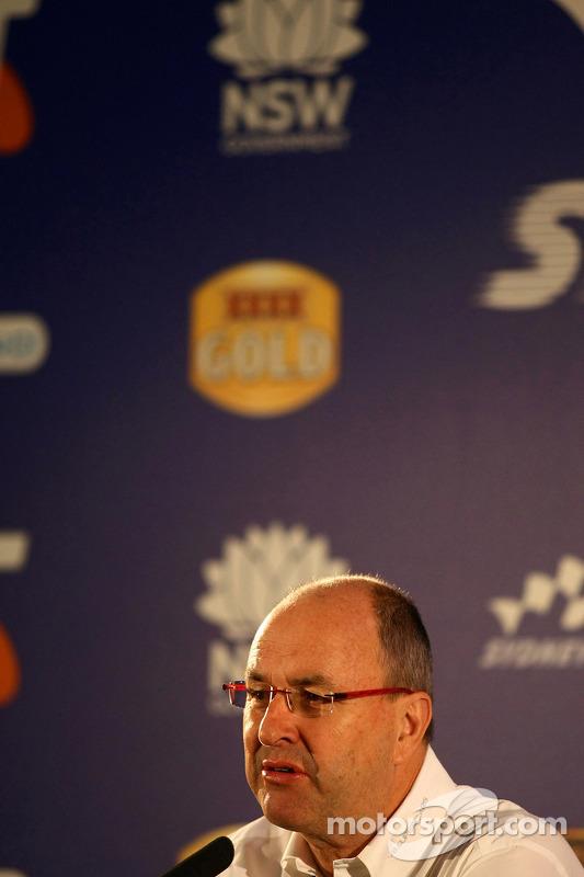 Press conference: Tony Cochrane