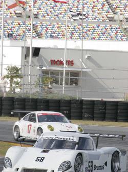 #59 Brumos Racing Porsche Riley: David Donohue, Hurley Haywood, Darren Law