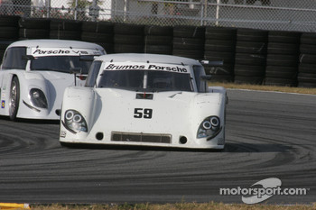 #59 Brumos Racing Porsche Riley: David Donohue, Hurley Haywood, Darren Law