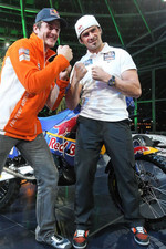 KTM: Marc Coma and Cyril Despres