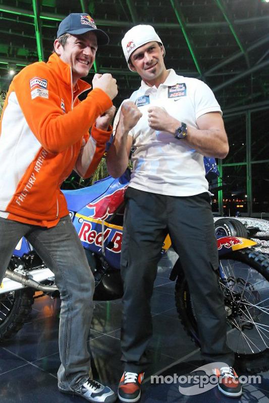 KTM: Marc Coma and Cyril Despres