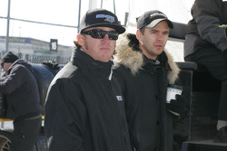 Buddy Rice and Darren Manning