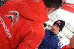 Kimi Raikkonen Citroën C4 WRC test