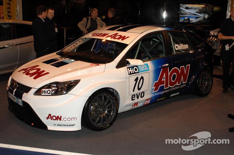 Tom Chilton Team Aon Ford Focus BTCC car