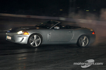 Jaguar XKR driven by Tiff Needell