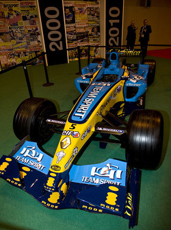 Fernando Alonso's 2005 championship winning car