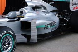 Mercedes GP, W01, detail