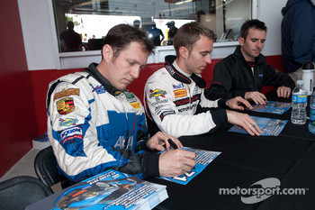 Spencer Pumpelly, Timo Bernhard and Romain Dumas