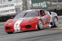 #08 Sigalsport Ferrari 430 Challenge: Fred Poordad, Gene Sigal, Rusty West, Roger Yasukawa
