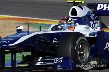 Nico Hulkenberg, Williams F1 Team, FW32