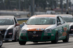 #49 Irish Mike's Racing Volkswagen Jetta: Andrew Novich, Randy Pobst
