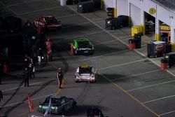 Crashed cars go back to the garage