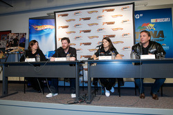 JR Motorsports press conference: Kelley Earnhardt, Dale Earnhardt Jr., Danica Patrick and Simon Waldron