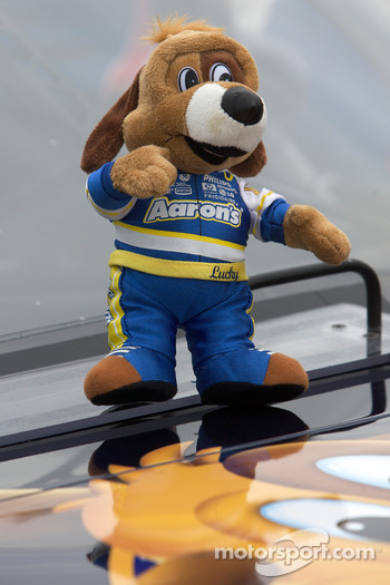 Mascot on the Michael Waltrip Racing Toyota of David Reutimann
