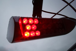 light system used by Mercedes GP Petronas