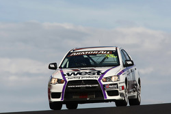 #55 West Surfing Products, Mitsubishi Evo X RS: Glyn Crimp, Warren Luff, Stuart Kostera