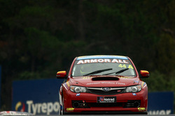 #44 Johnson Window Film, Subaru Impreza Sti: Jim Hunter, Dean Herridge, Barton Mawer, Lyn Brown