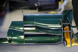 Lotus F1 Team, T127, detail
