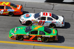 Danica Patrick and Mike Wallace