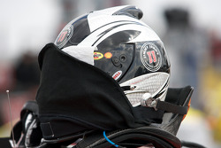 Helmet of Kevin Harvick on the starting grid